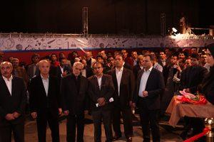 افتتاحیه ساختمان فردوسی در قلب تهران