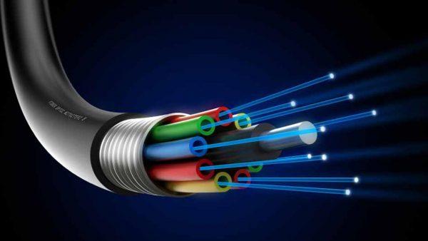 کابل شبکه فیبر نوری
